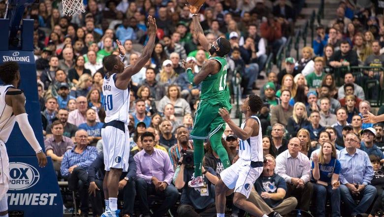 Irving's 47 lead Celtics past Mavericks in overtime to maintain streak