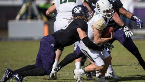 NCAA Football: Baylor at Texas Christian