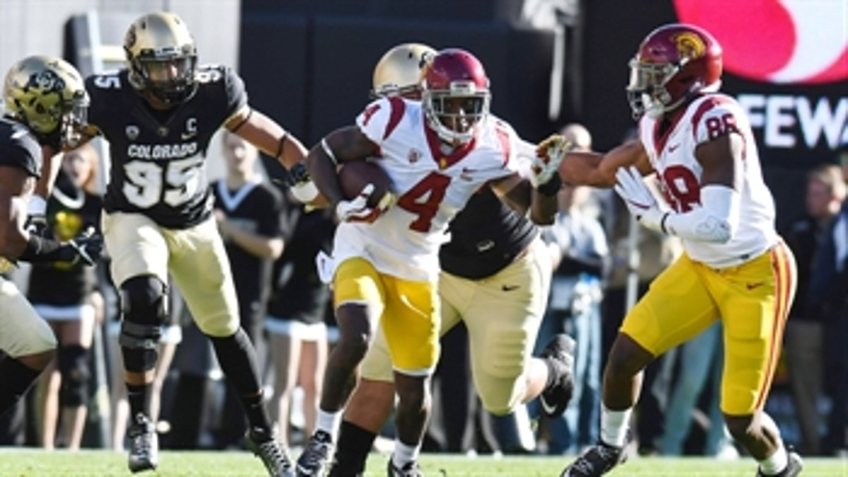 PAC-12 South Champs: No. 15 USC overwhelms Colorado 38-24