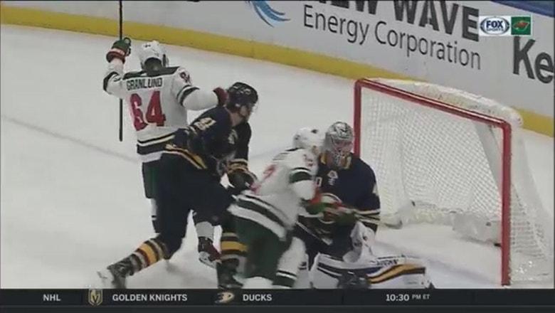 WATCH: Wild's Granlund stays hot, scores twice vs. Sabres