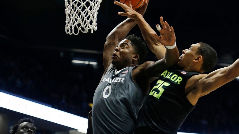 No. 21 Xavier shuts down No. 16 Baylor 76-63