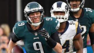 Cris Carter explains why the Eagles aren't necessarily finished if Nick Foles has to start in Philly