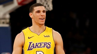 Nick Wright's take on Lonzo Ball's performance against the Knicks last night
