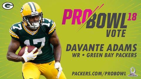 Davante Adams, Packers wide receiver
