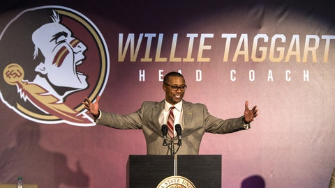 Taggart says FSU job a dream fulfilled