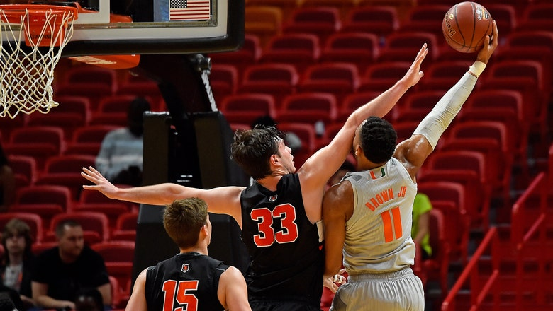 Miami cruises past Princeton with ease in HoopHall Miami Invitational