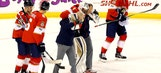 Panthers lose goalie Roberto Luongo to injury before dropping shootout to Islanders
