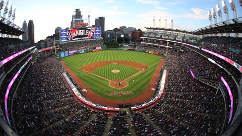 Cleveland Indians expanding safety netting at Progressive Field