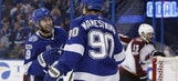 Cooking with fire: Lightning remain red-hot, throttle visiting Avalanche