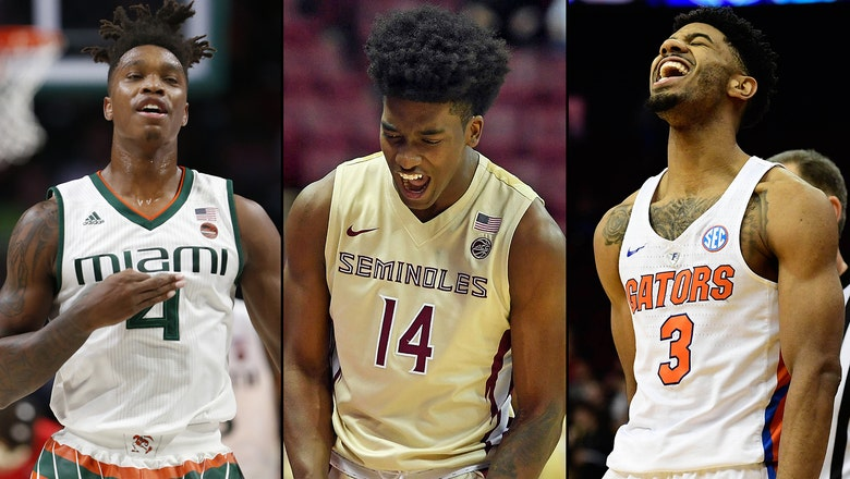 Miami, FSU on the rise as Florida tumbles in latest AP basketball poll