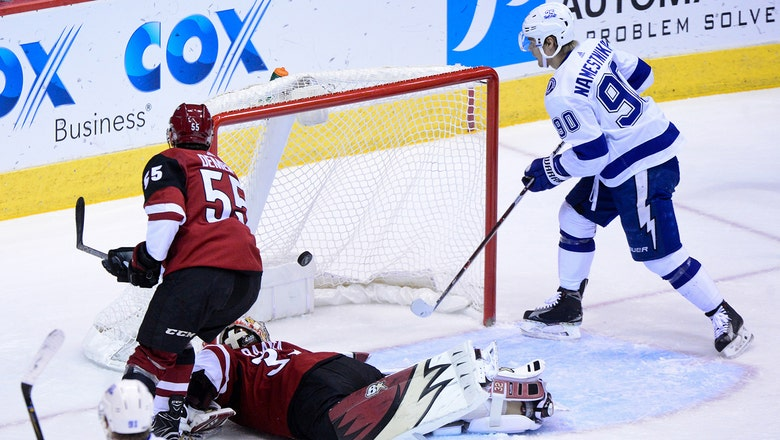 Lightning tame Coyotes, extend win streak to 6 straight