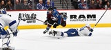 Lightning weather hat trick from Gabriel Landeskog, beat Avalanche for 7th straight victory