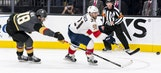 Panthers overwhelmed in 3rd period, fall to expansion Golden Knights