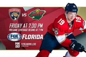 Preview: Back home following five-game road trip, Panthers host Wild