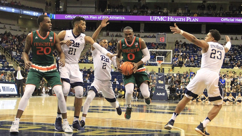 No. 15 Miami makes easy work of Pitt to begin conference slate