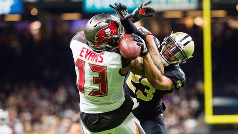 Saints lose to Buccaneers, win NFC South anyway