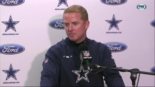 Jason Garrett on paper measurement: 'I've never seen that one'