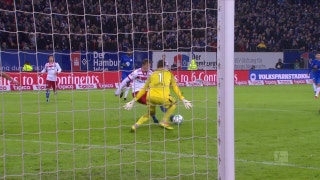 Hamburger SV vs. VfL Wolfsburg | 2017-18 Bundesliga Highlights