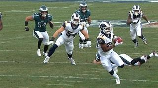 HIGHLIGHTS: Rams' Blake Countess returns blocked punt for TD