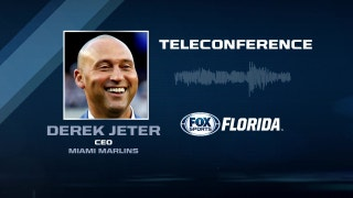 Marlins CEO Derek Jeter teleconference: I wouldn't have done anything differently
