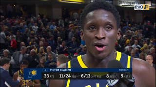 Victor Oladipo after Pacers' win over Cavaliers: 'It's only the beginning'
