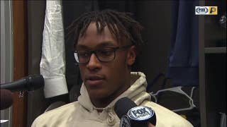 Myles Turner happy to get his first victory against Cavaliers