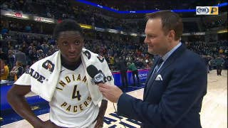 Oladipo on his 47-point performance: '[I'm] just trying to be the best'