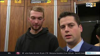Sabonis on Pacers fans: 'They give the energy'