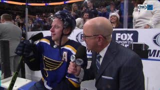Tarasenko scores game-winner in overtime, thanks Blues fans for the support