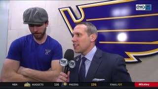 Edmundson wins Jimmy Roberts hat after Blues beat Sabres