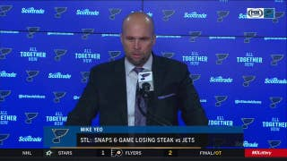 Mike Yeo: 'It was big to get something on the power play' against Jets