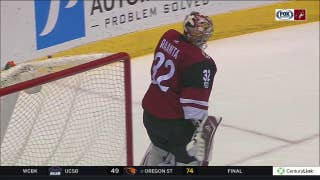 HIGHLIGHTS: Coyotes lose heartbreaker on late score by Penguins