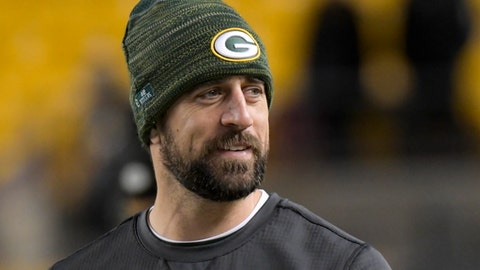 Aaron Rodgers, Packers quarterback (⬆ UP)