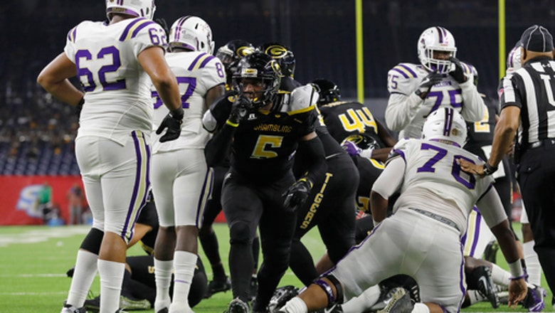 Grambling holds off Alcorn State 40-32 in SWAC Championship