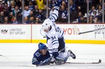 Markstrom makes 35 saves, Canucks beat Maple Leafs 2-1 (Dec 02, 2017)