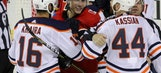 Oilers take big lead, hold on for 7-5 win over Flames (Dec 02, 2017)