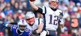 Tom Brady photos slow down drivers in school zone
