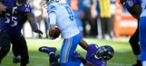 Stafford's banged-up throwing hand only 1 of Lions' woes