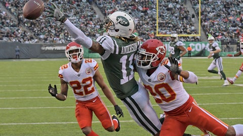 Chiefs CB Marcus Peters suspended for Sunday's game after Jets incident