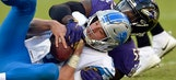 Flacco, Ravens crank up the offense in 44-20 win over Lions