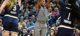 No. 1 UConn rallies in fourth to beat No. 3 Notre Dame 80-71
