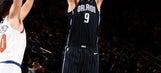 Nikola Vucevic has 34 points, Magic beat Knicks 105-100
