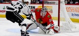 Quick, Kings stop Blackhawks 3-1 for 5th straight win