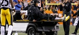 Steelers LB Ryan Shazier taken to hospital with back injury
