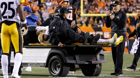 Steelers LB Ryan Shazier Stretchered Off Field With Back Injury