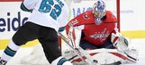 Ovechkin shines as Capitals enjoy rare win against Sharks
