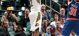 Thaddeus Young scored 20 to help Pacers rout Knicks 115-97