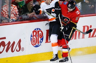 Elliott, Flyers snap 10-game skid with 5-2 win over Flames