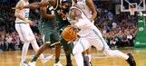 Irving's 32 helps Celtics hold off Bucks 111-100