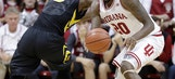 Hoosiers take advantage of Iowa turnovers in 77-64 victory